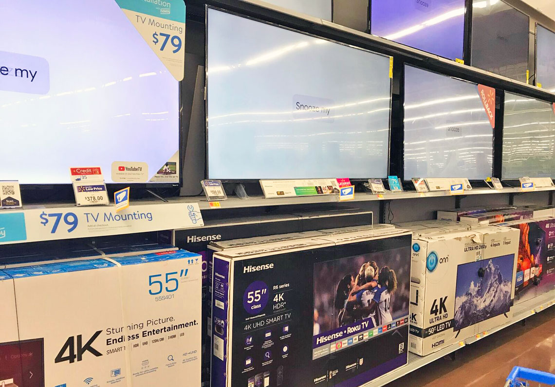 Sceptre 55-Inch TV, Only $230 at Walmart (Reg  $400)! - The