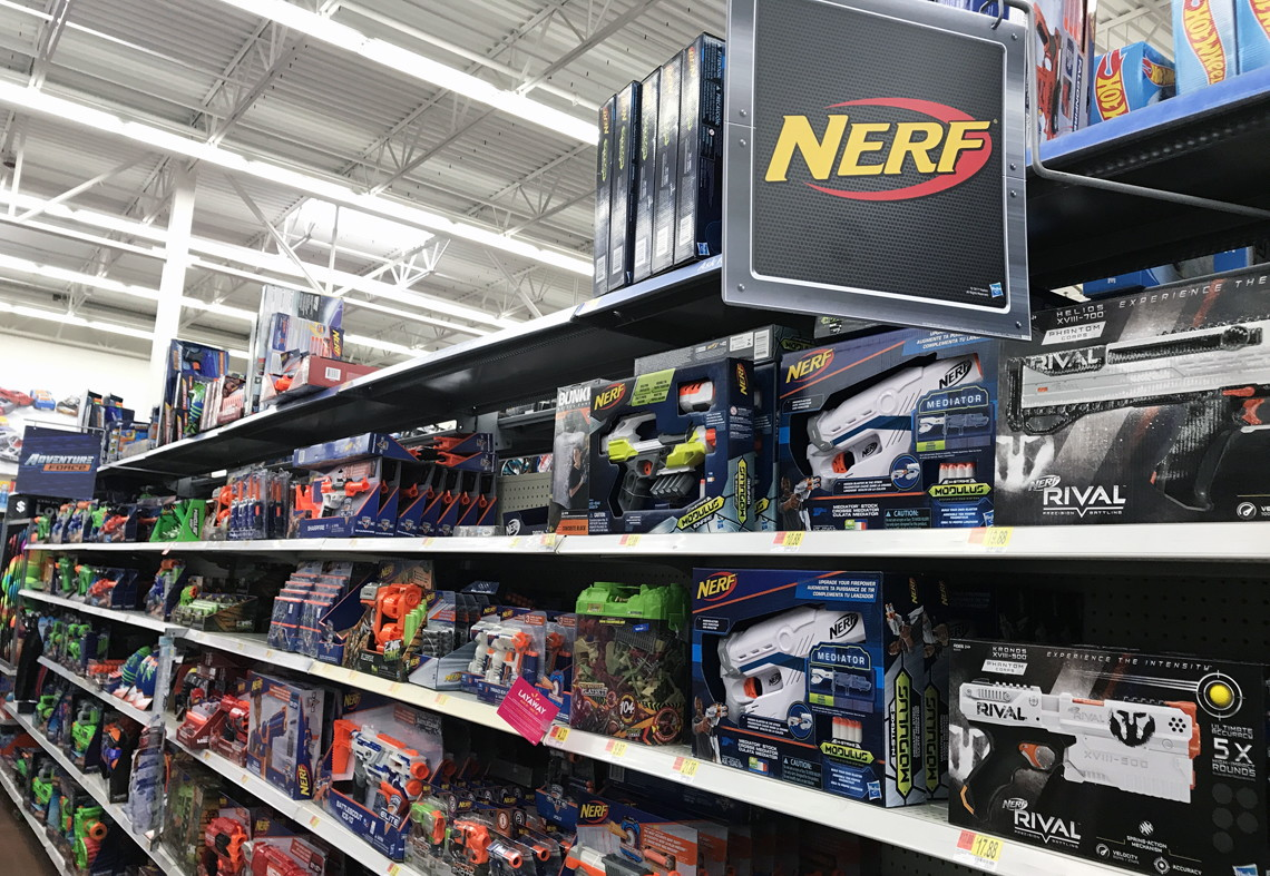 Nerf Jolt with 75-Dart Refill, Only $7 98 at Walmart! - The