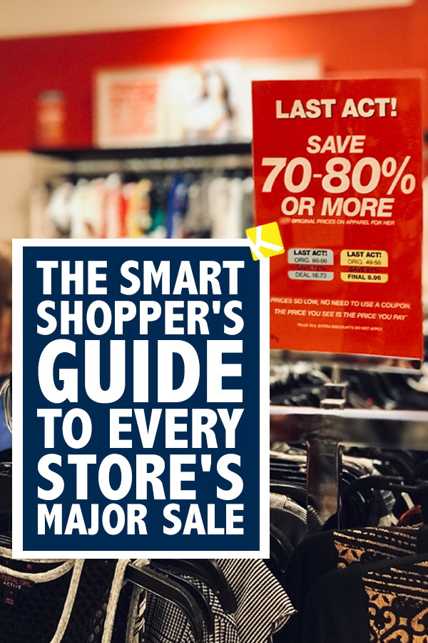 f1095f9d1f65 The Smart Shopper s Guide to Every Store s Major Sale - The Krazy ...