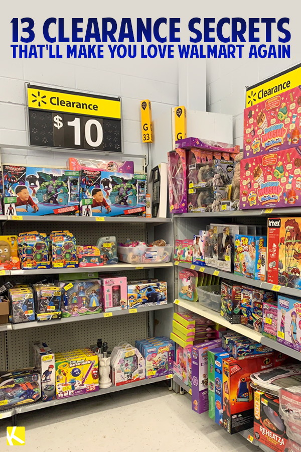13 Clearance Secrets That'll Make You Love Walmart Again