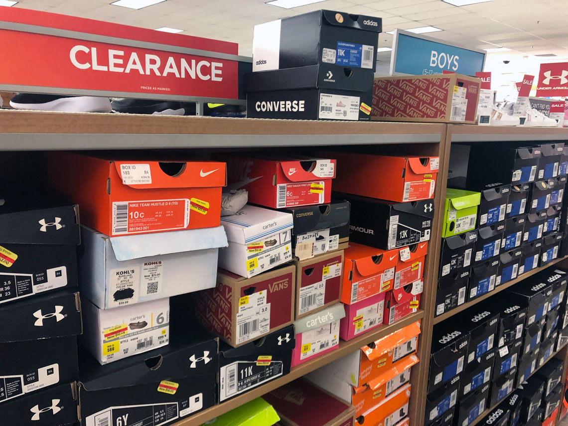 new style e2844 a4c8e DealsThe Best of Clearance Kids  Shoes at Kohl s - as Low as  9!