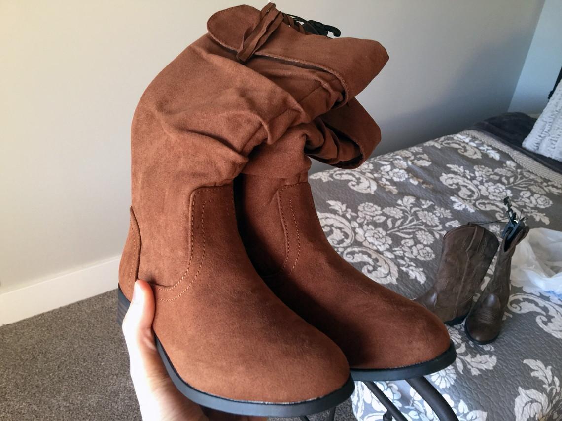 f0b8d48321a Wonder Nation Girls  Knee High Boots  1.00 (reg.  22.92)