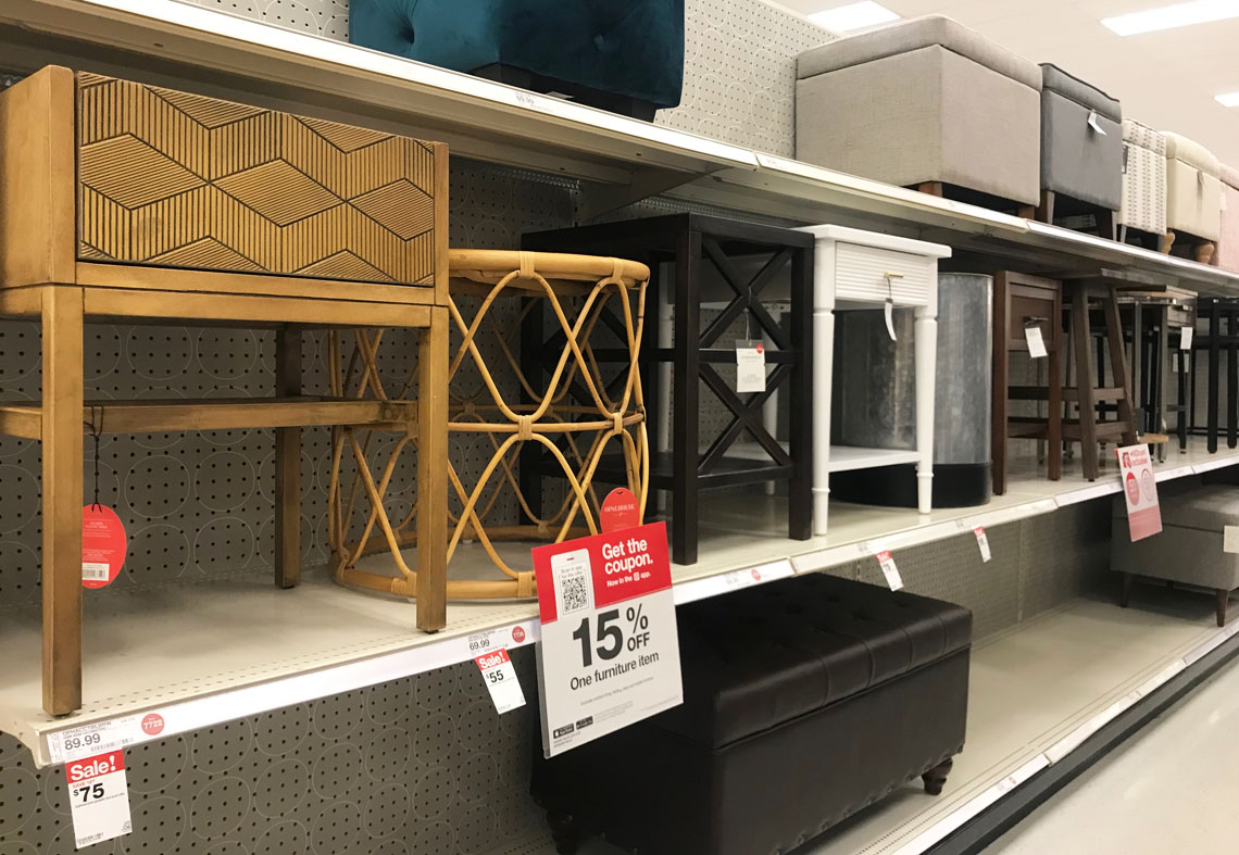 Fabulous End Tables As Low As 36 33 At Target The Krazy Coupon Lady Inzonedesignstudio Interior Chair Design Inzonedesignstudiocom