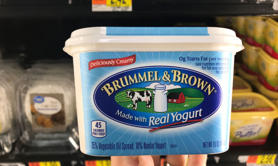 Brummel & Brown Spread with Yogurt, Only $1.42 at Walmart! - The Krazy Coupon Lady