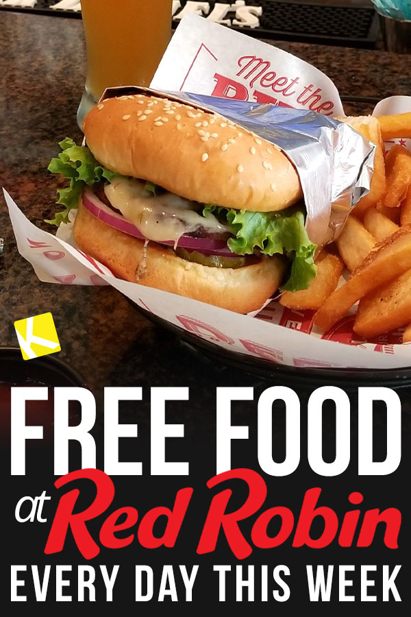 RED ROBIN DEALS 2019