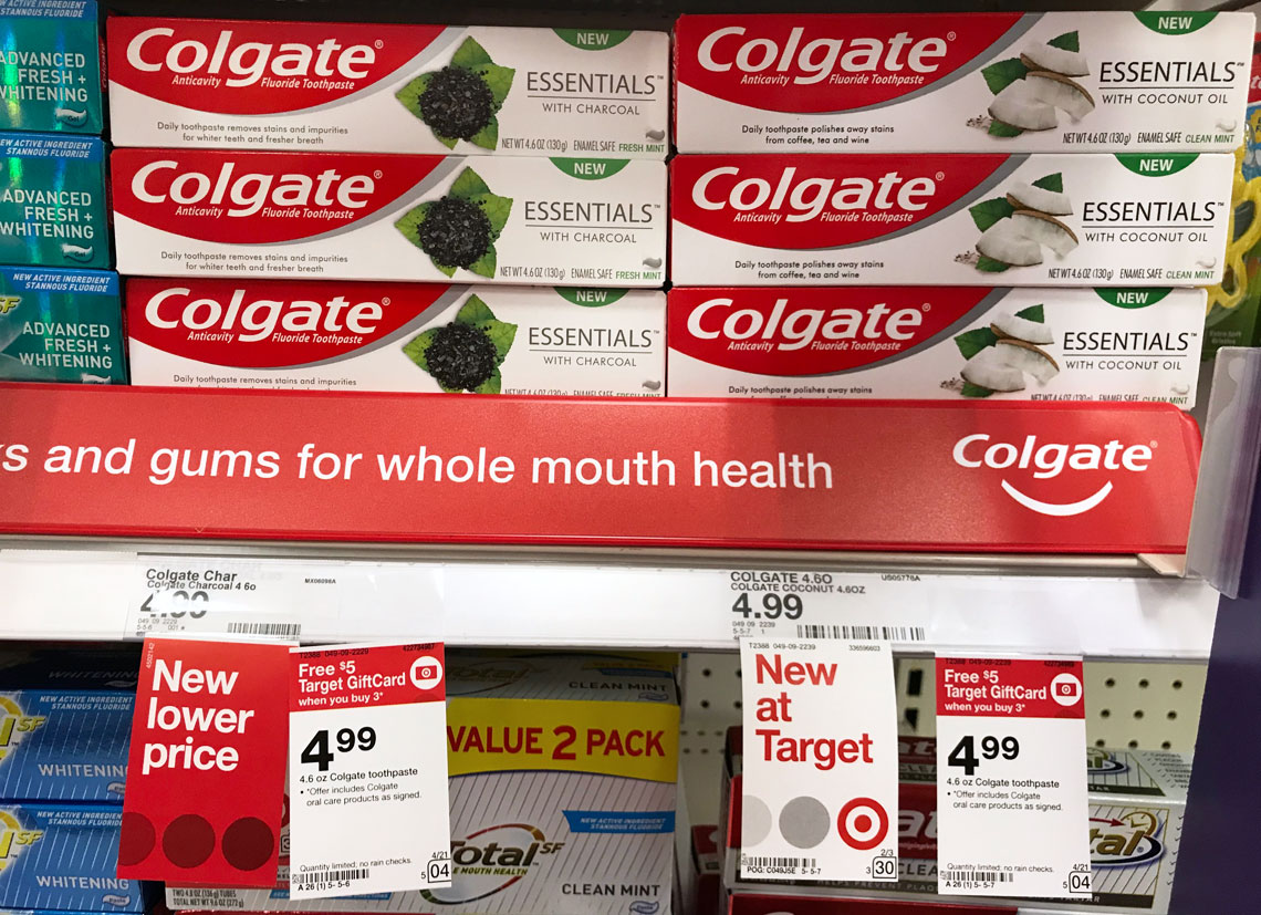 Colgate Toothpaste, Only $0 32 at Target! - A Couponer's Life