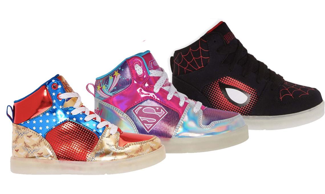 3c91b0f9c2b8 Kids  Superhero Sneakers