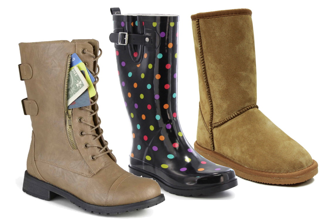 8658fdd33e770 Women s Boot Clearance  as Low as  6.99 at JCPenney! - The Krazy ...