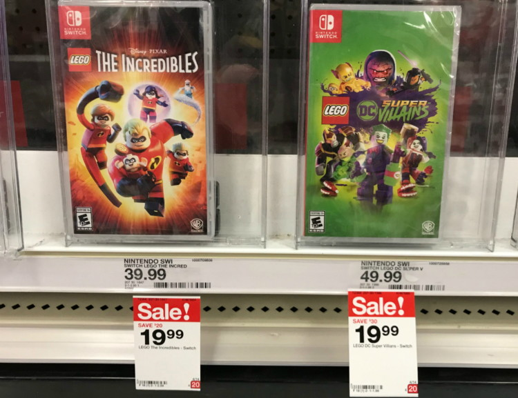 Nintendo Switch Games, Only $18 99 at Target! - A Couponer's