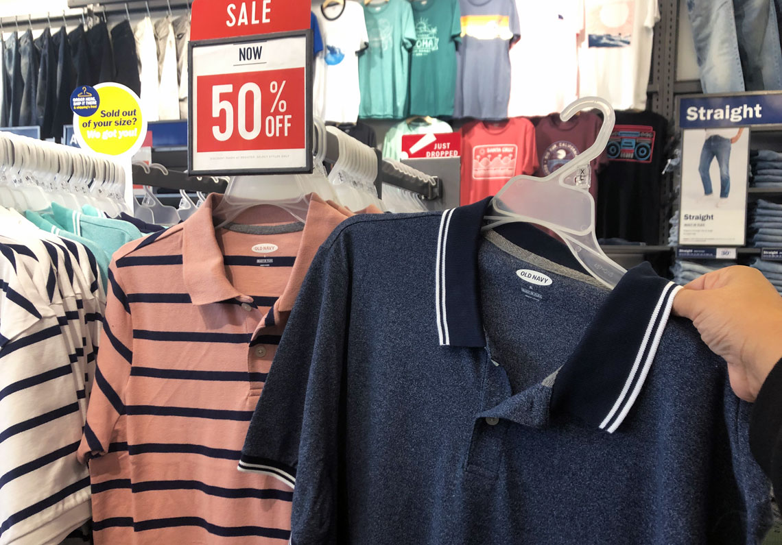 d3d621b278bb 50% Off Dresses & Polos for the Family at Old Navy! - The Krazy Coupon Lady