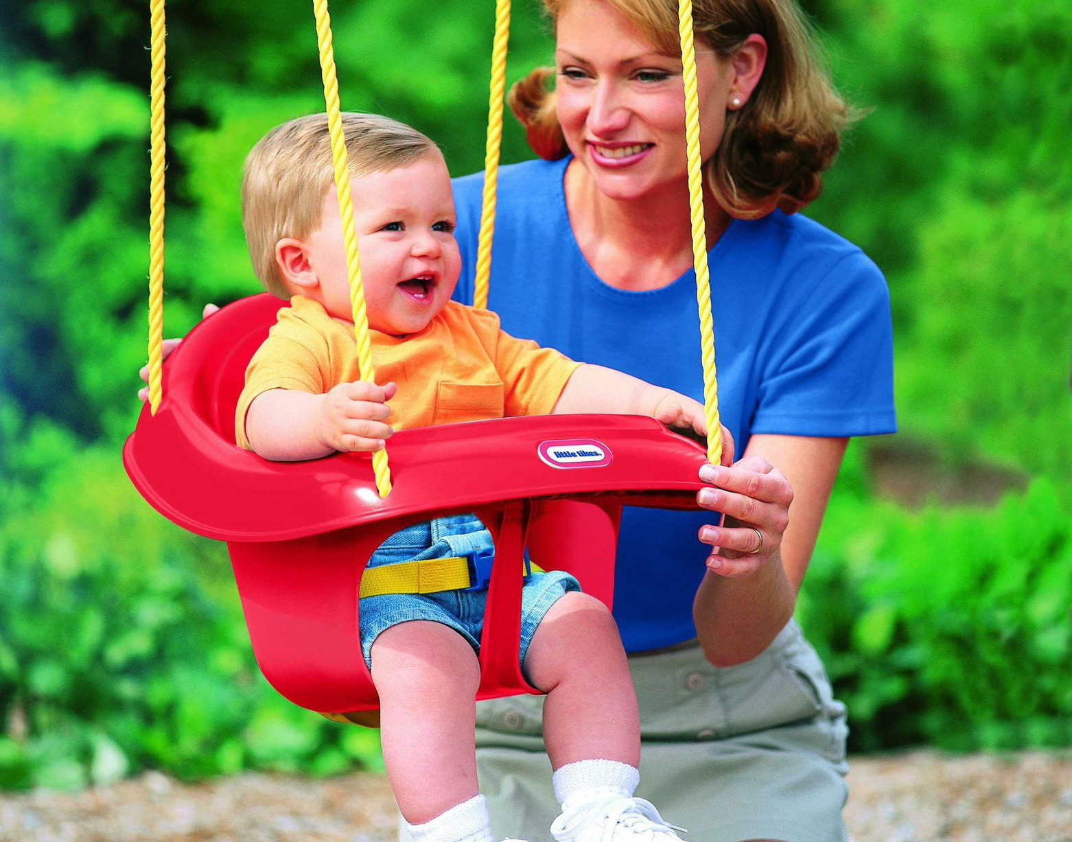 Little Tikes Toddler Swing Only 17 82 At Walmart The