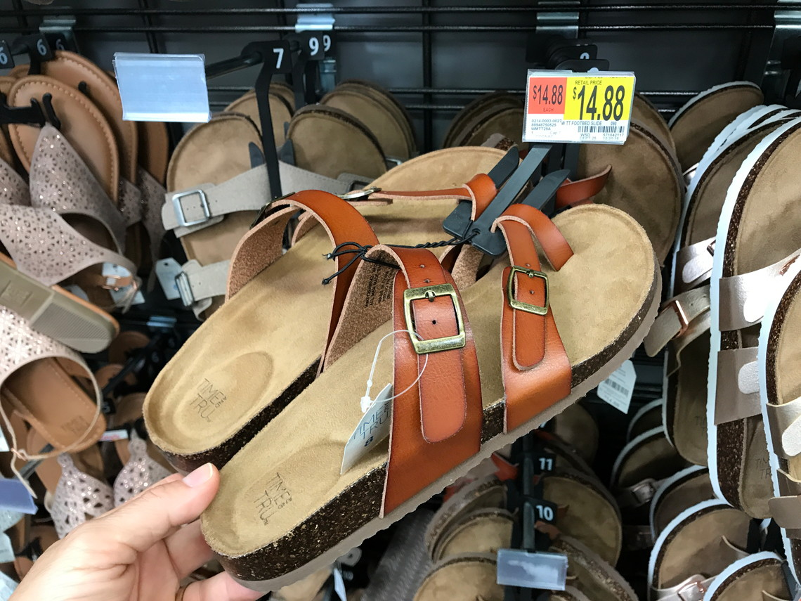 495899b42 Time & Tru Women's Footbed Sandals, Only $14.88 at Walmart! - The ...