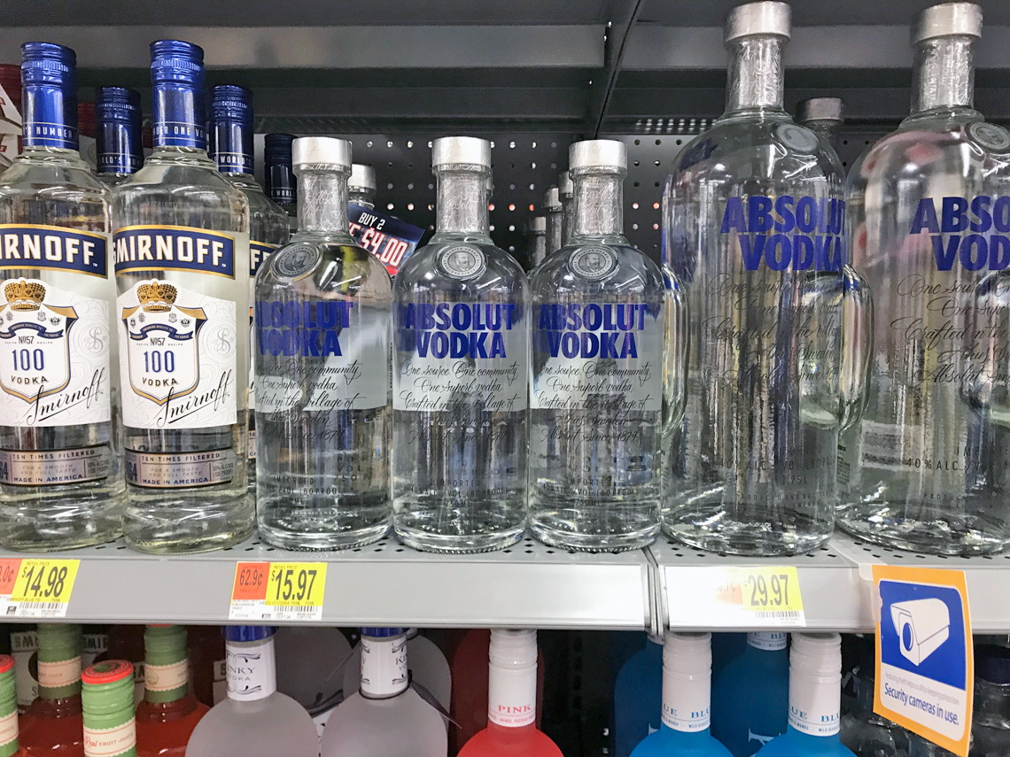 Up to $4 Off Absolut, Smirnoff & Ciroc Vodka at Walmart! - A