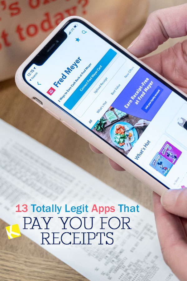 13 Totally Legit Apps That Pay You for Receipts - The Krazy Coupon Lady