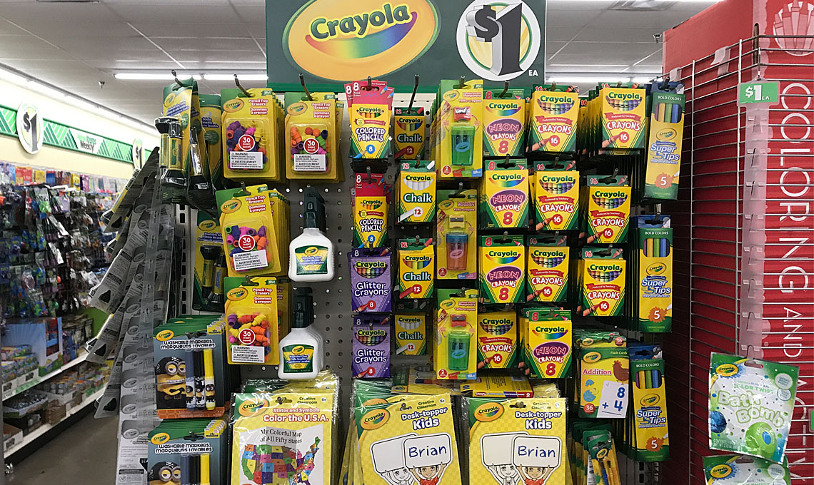 Crayola Paints Markers Doodle Pads More At Dollar Tree