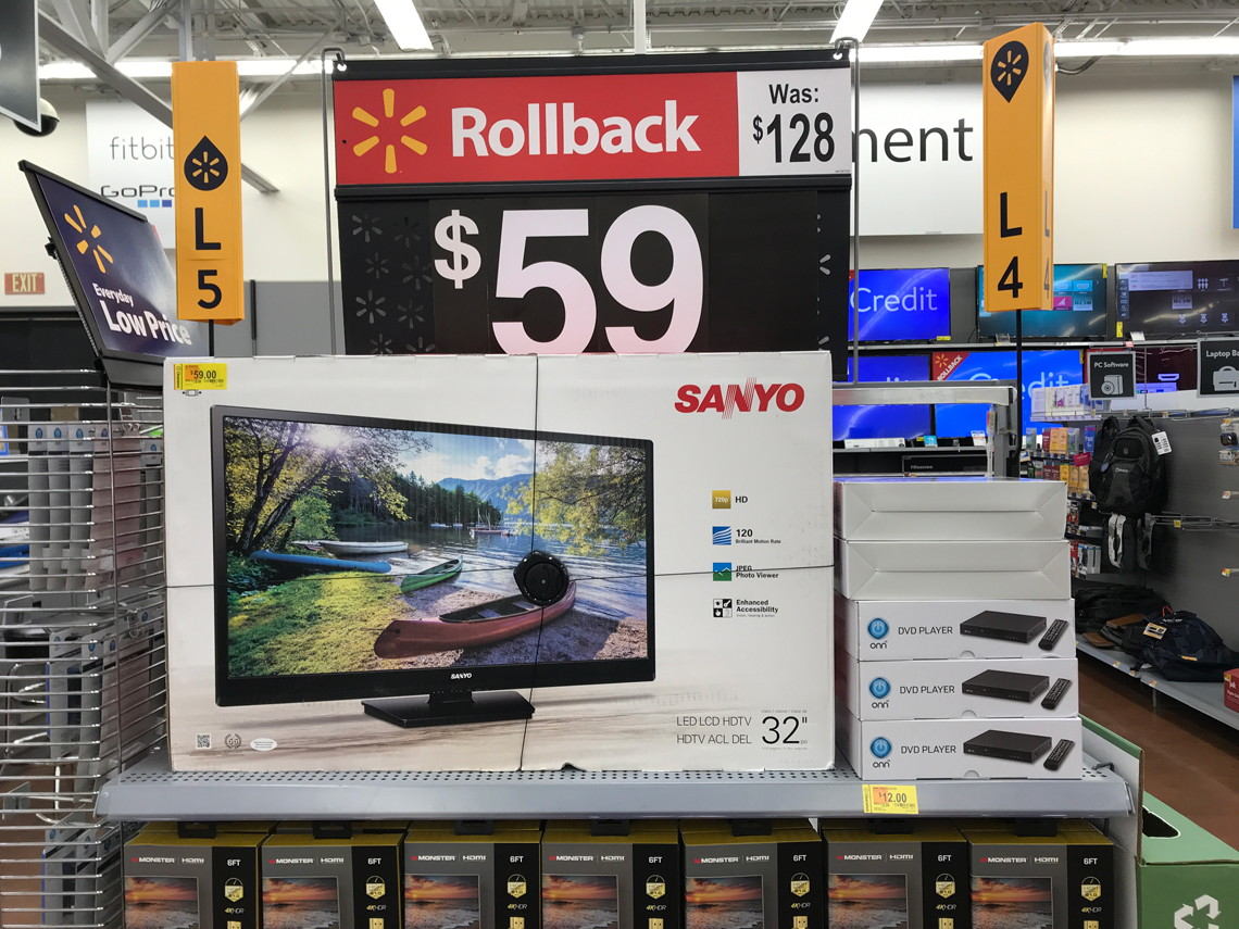 Walmart Clearance: Sanyo TVs, as Low as $59 in Stores! - The