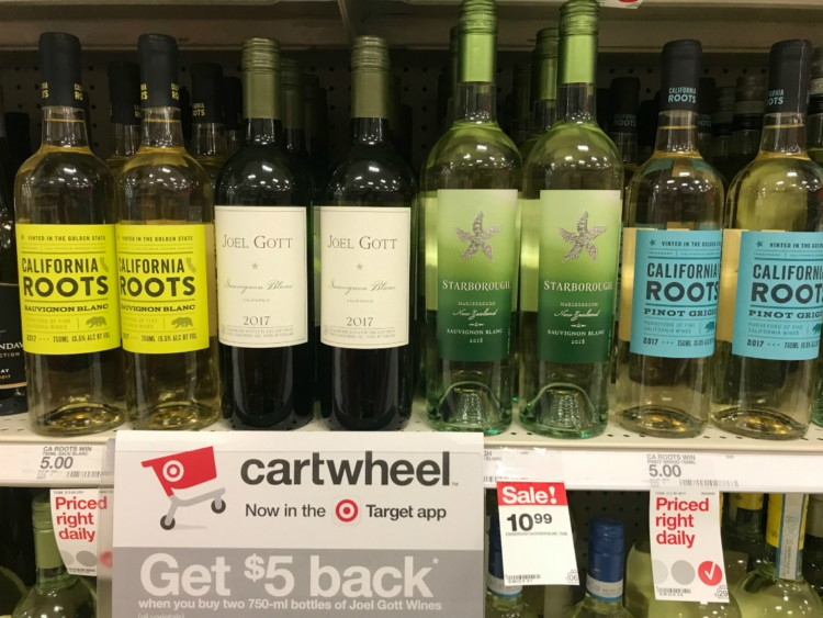 $5 00 Bonus! Beer, Wine & Spirits, as Low as $2 99 at Target