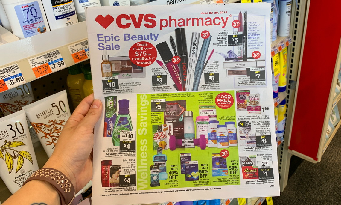 CVS Weekly Coupon Deals: 6/23 – 6/29 - The Krazy Coupon Lady