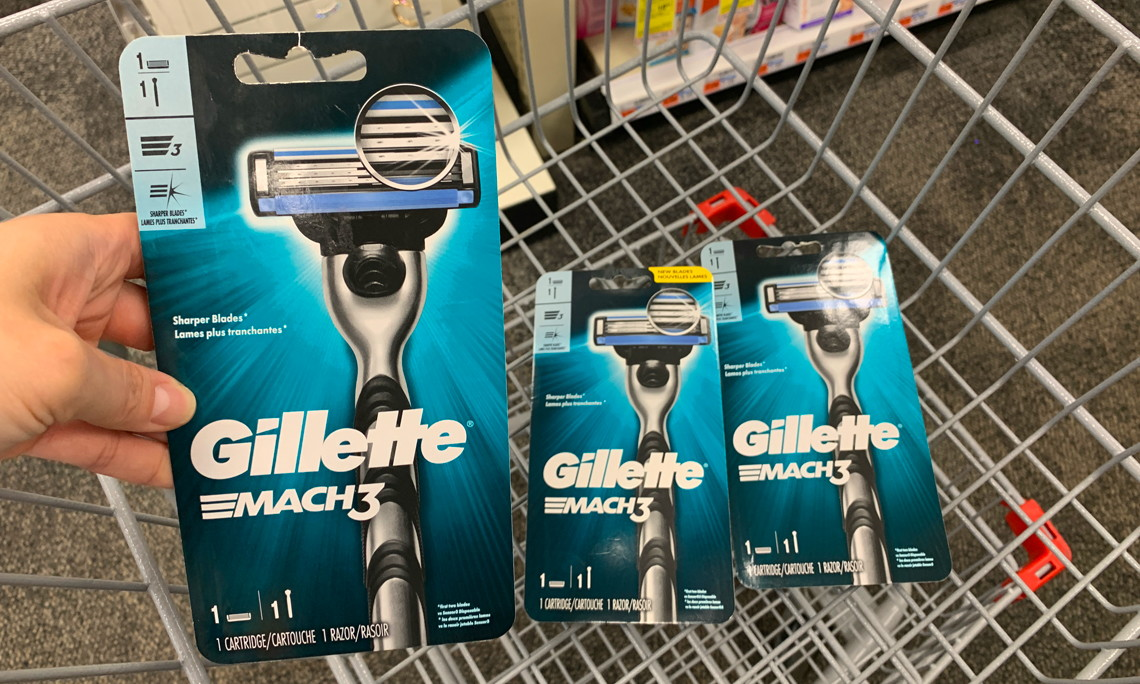 Gillette Mach3 Razor, Only $0 49 at CVS! - The Krazy Coupon Lady