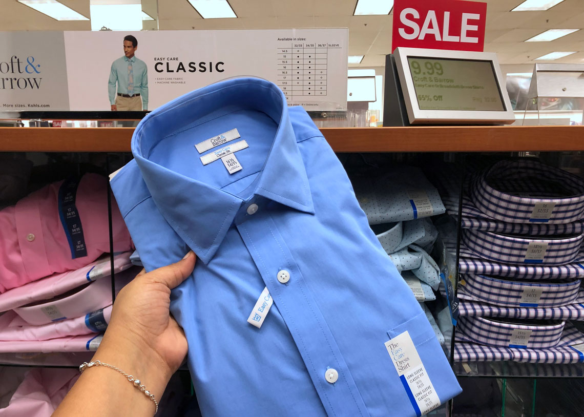 23ab5d118 Men's Dress Shirts, Only $8.49 at Kohl's – Reg. $32.00! - The Krazy Coupon  Lady