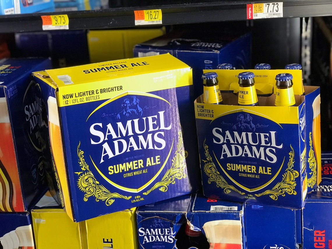 $3 Off Samuel Adams Summer Ale Seasonal Beer at Walmart! - The Krazy