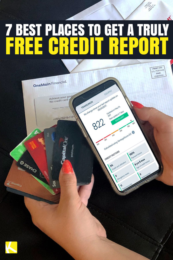 7 Best Places to Get a Truly Free Credit Report - The Krazy