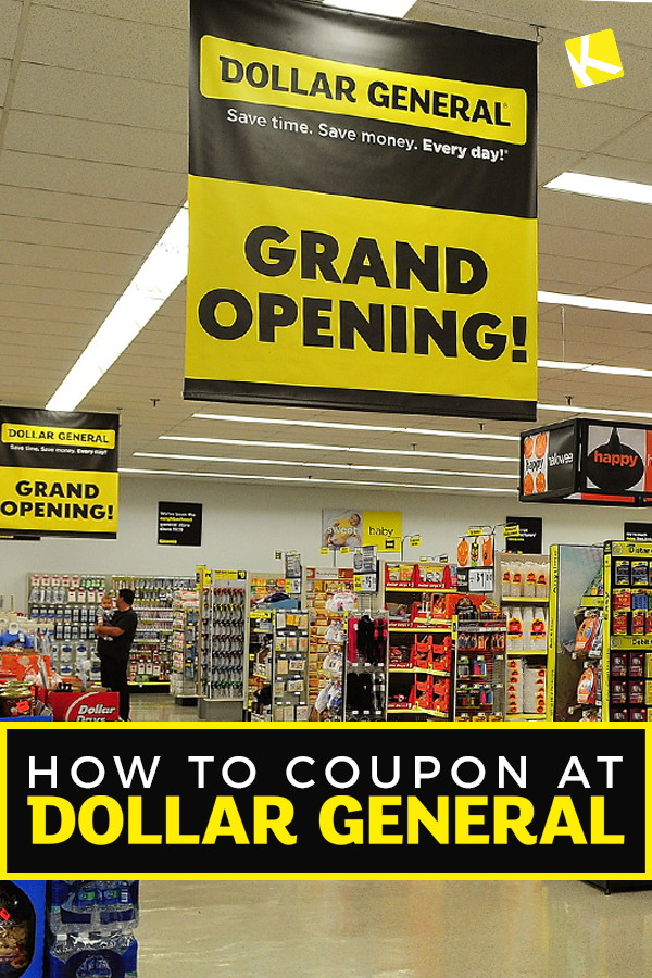 How to Coupon at Dollar General - The Krazy Coupon Lady