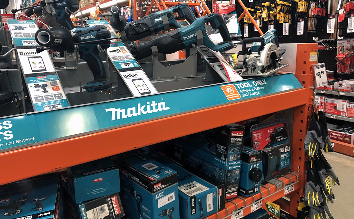 $129 Makita Battery Kit + Free Power Tool at Home Depot