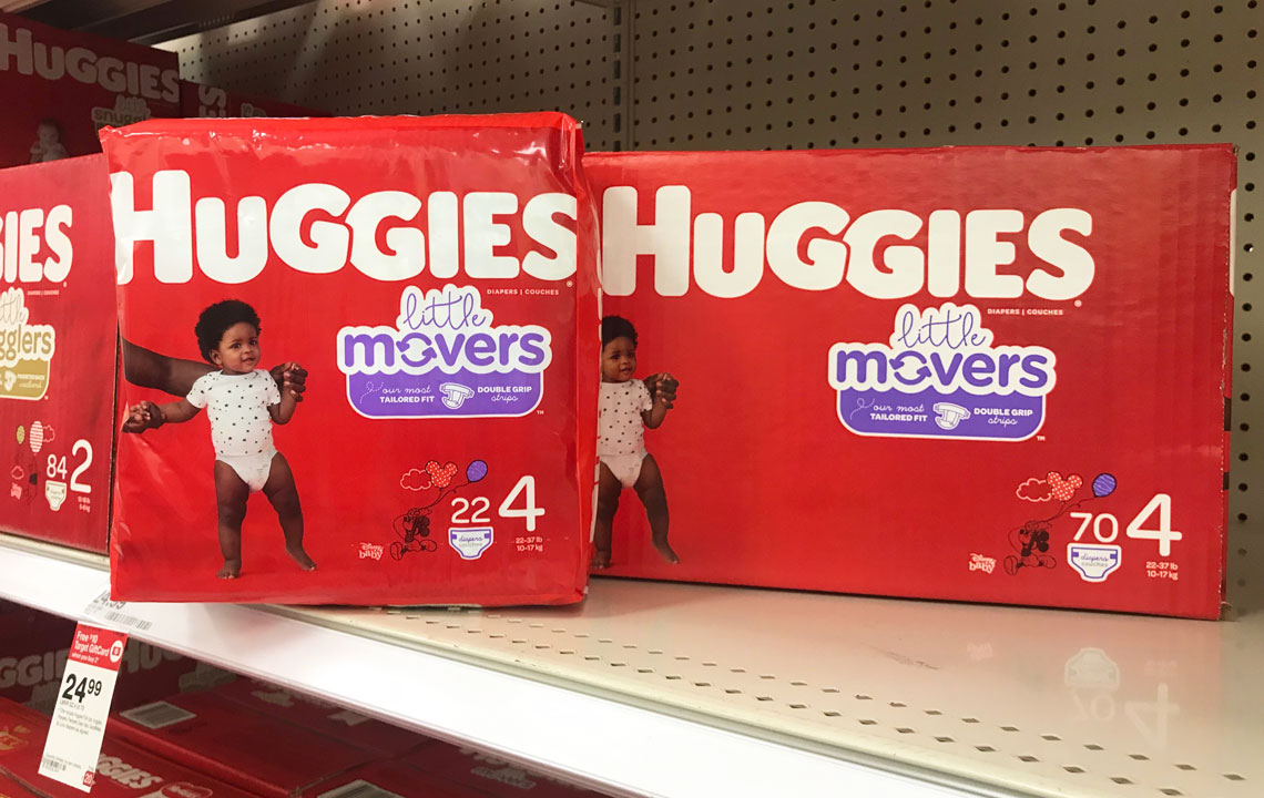Huggies Diapers, as Low as $4 99 at Target! - The Krazy Coupon Lady