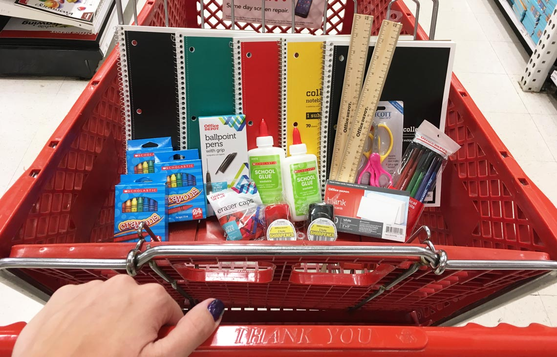 Office Depot Shopping Haul – 20 Items for $8 71! - The Krazy