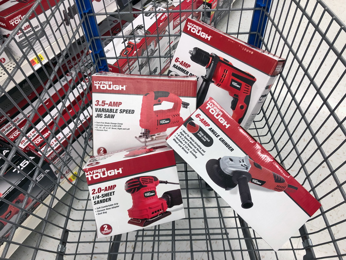Hyper Tough Power Tools, as Low as $13 88 at Walmart! - The