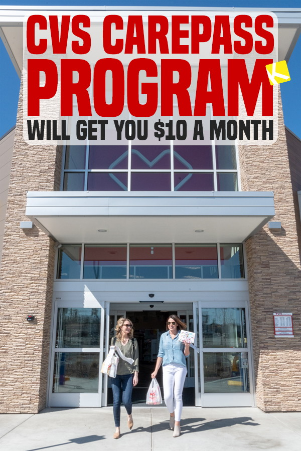 cvs carepass program will get you  10 a month