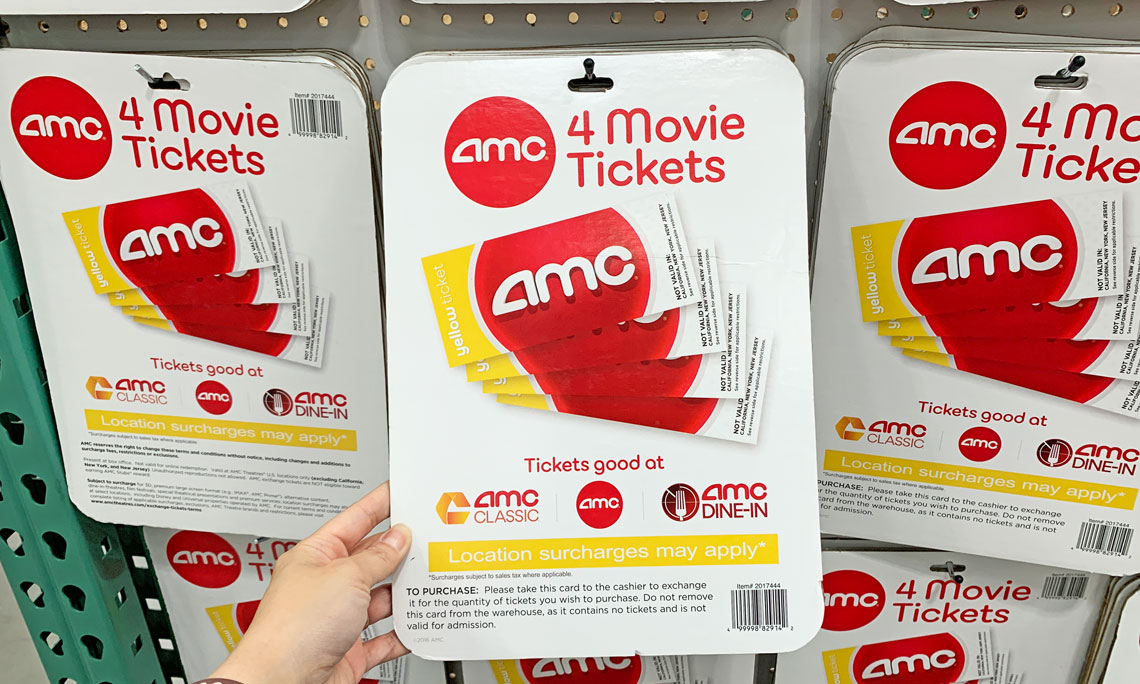 graphic regarding Amc Printable Coupons identify AMC Theater 4-Pack Video Tickets, Just $29.99 at Costco