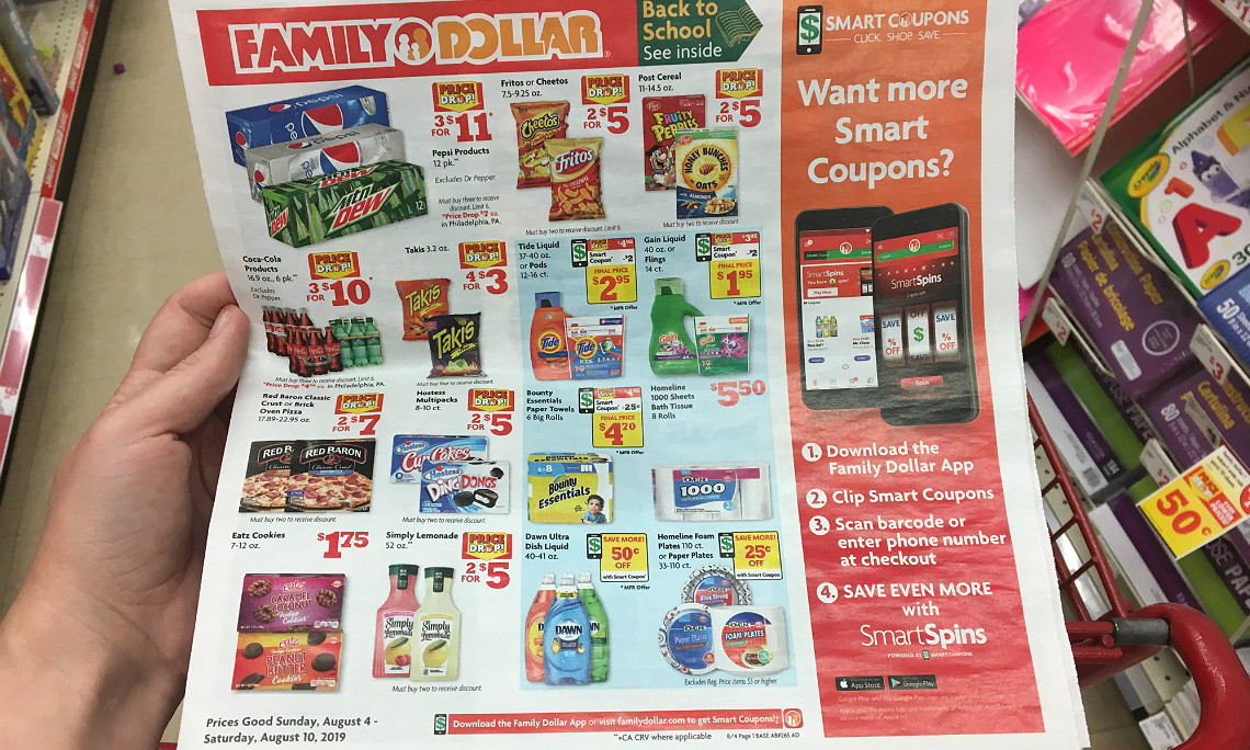 Family Dollar Coupons - The Krazy Coupon Lady