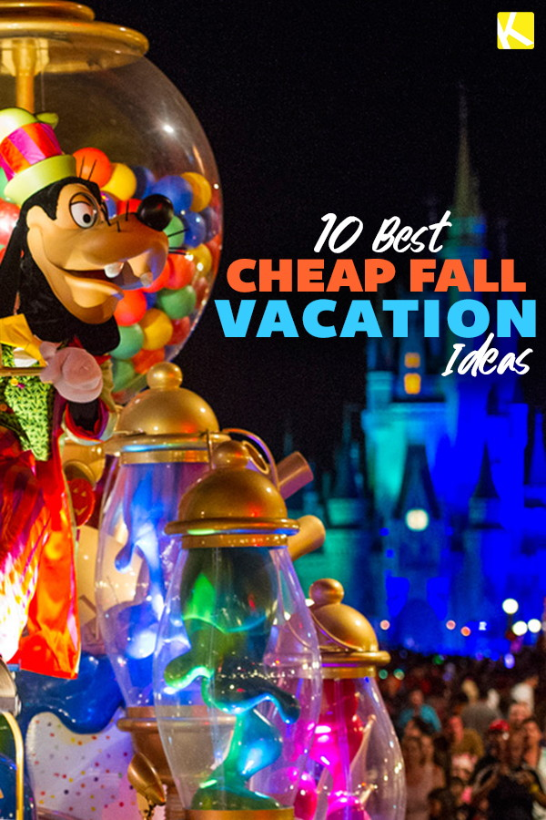 10 Best Cheap Fall Vacation Ideas for 2019 - The Krazy