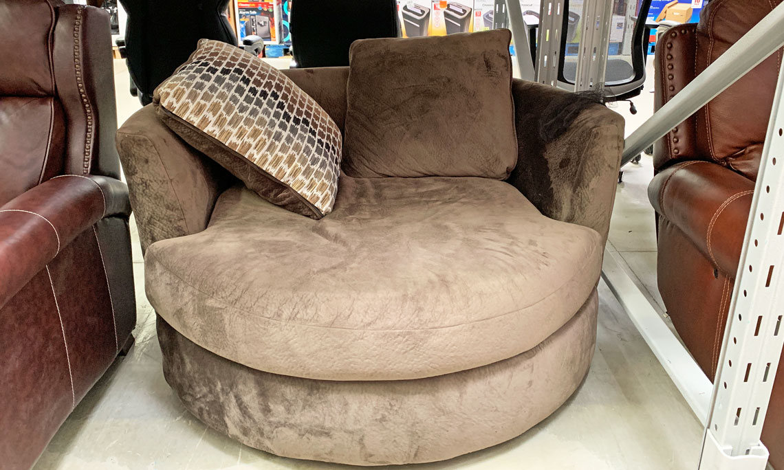 Amazing Furniture Clearance Round Swivel Chair Only 300 At Sams Uwap Interior Chair Design Uwaporg