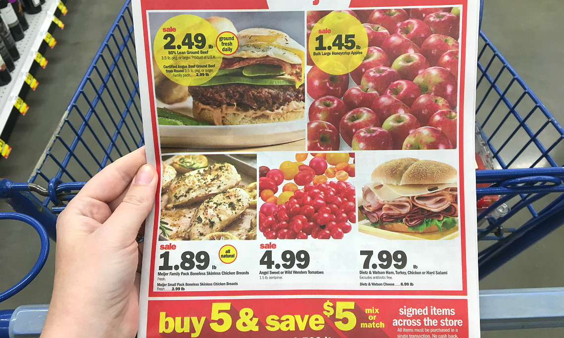 image relating to Meijer Printable Coupons known as Meijer Discount coupons - The Krazy Coupon Girl
