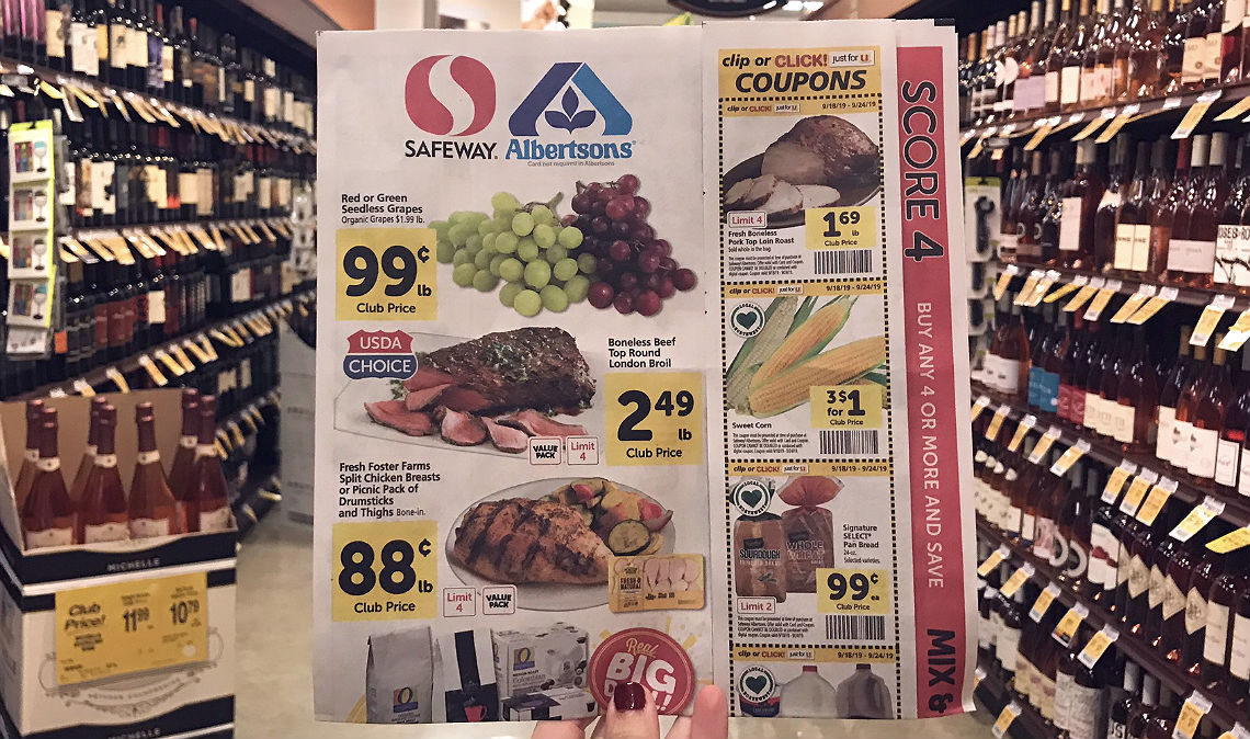 photograph regarding Safeway Printable Coupons called Safeway Weekly Specials - The Krazy Coupon Girl