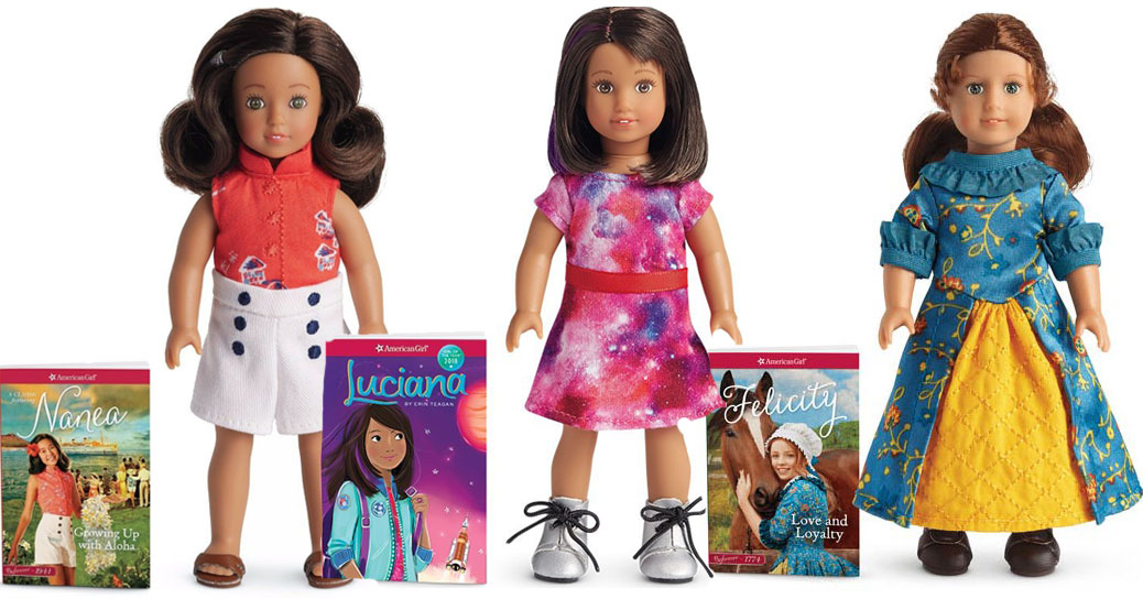 American Girl Mini Doll with B...