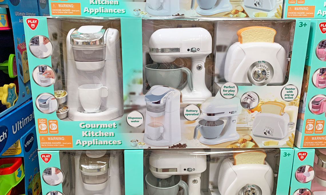 Gourmet Kitchen Appliances Toy Set, Only $19.98 at Sam\'s ...