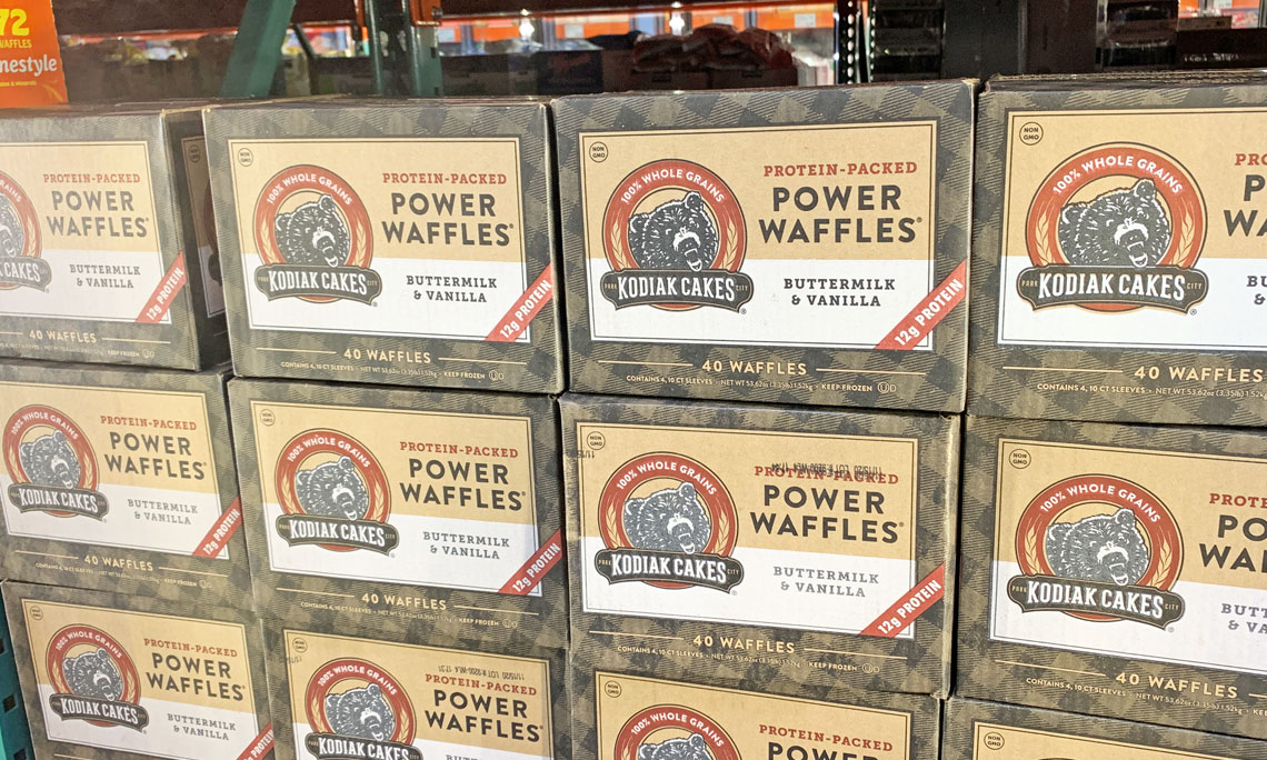 Kodiak Cakes Power Waffles, Only $9.59 at Costco! , The
