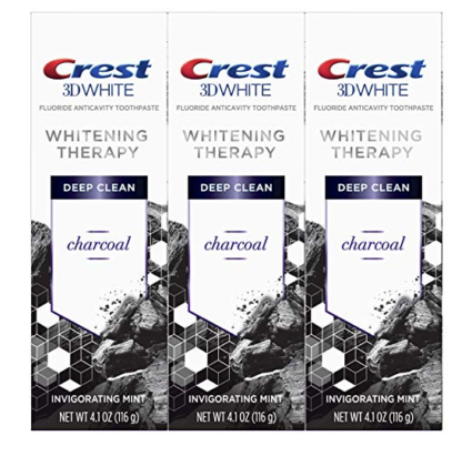 $5 Off Crest Charcoal Toothpaste on Amazon!