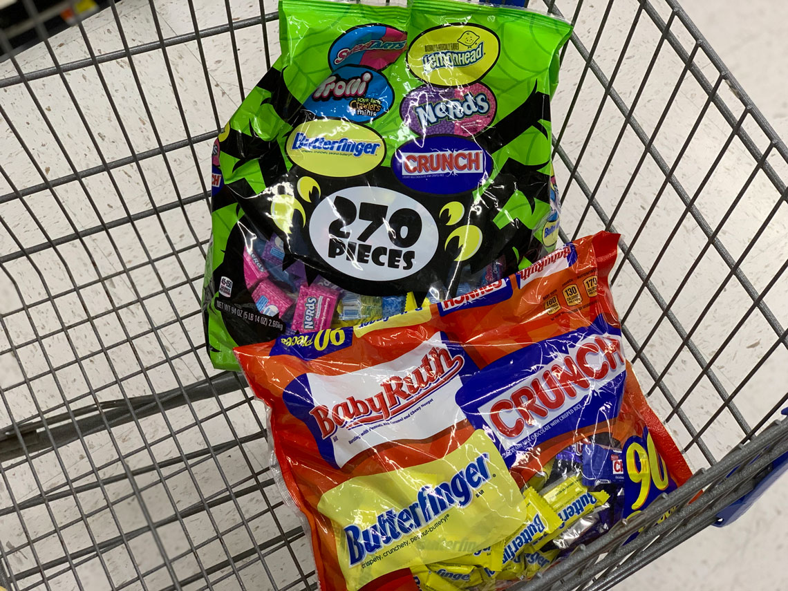 When will Halloween candy go on sale and how big will the discount be?