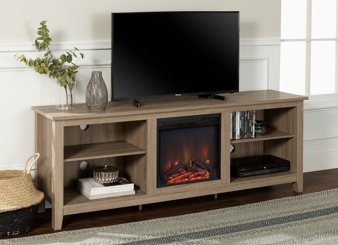 310 Off Fireplace Tv Stand Only 189 At Walmart The Krazy