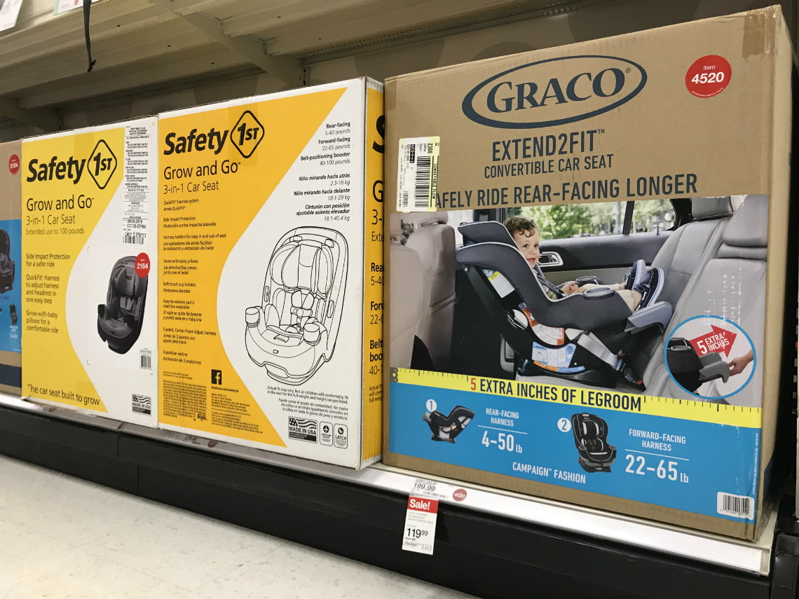 Graco Extend2Fit Convertible Car Seat, Only $113.99 at ...