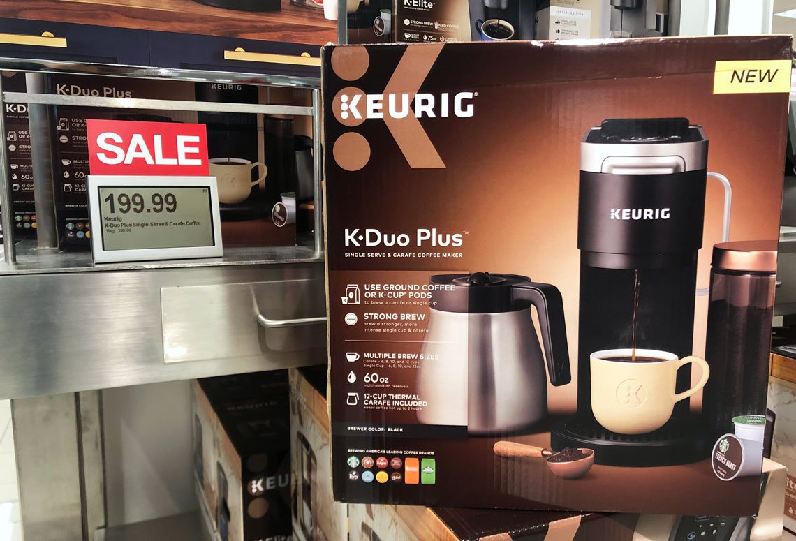 Keurig K-Duo Plus Coffee Maker, $140 + $25 Kohl's Cash ...