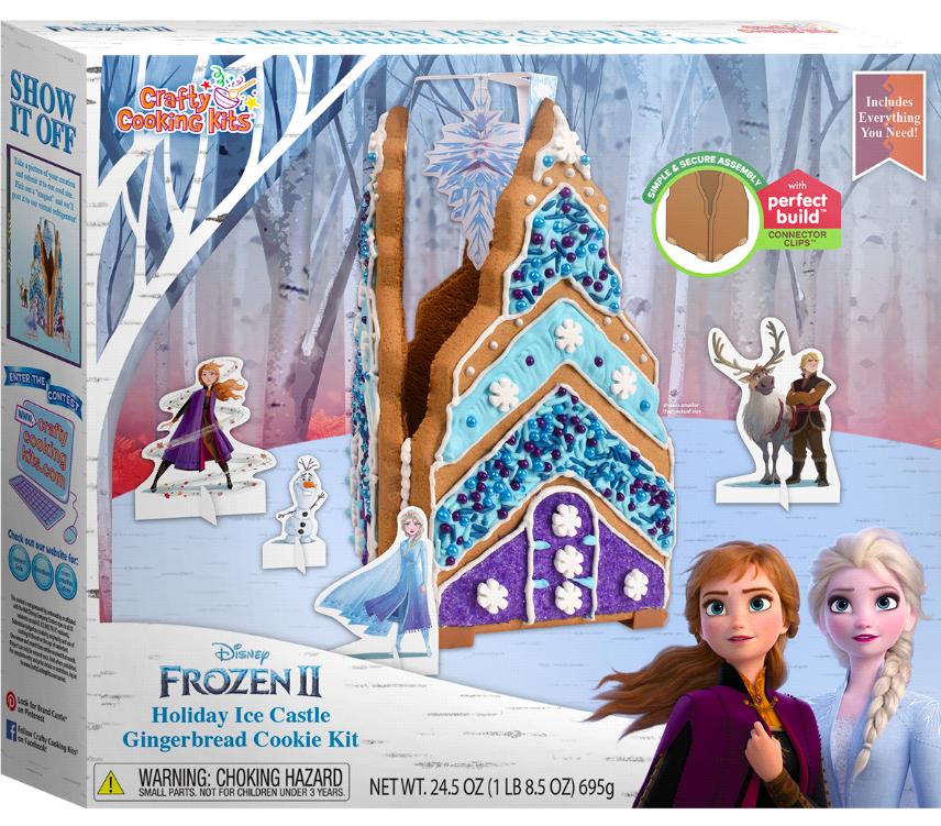 disney frozen ice castle gingerbread kit
