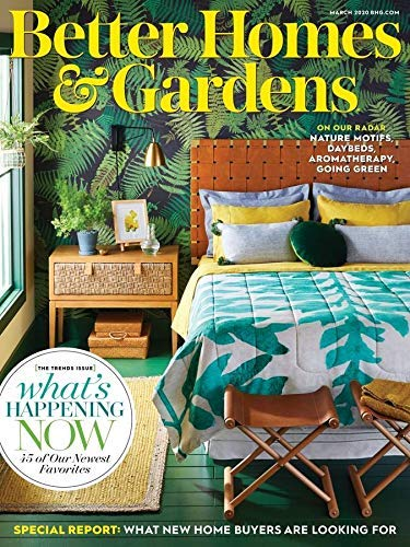 Save 90 On 1 Year Of Better Homes Gardens Magazine The Krazy