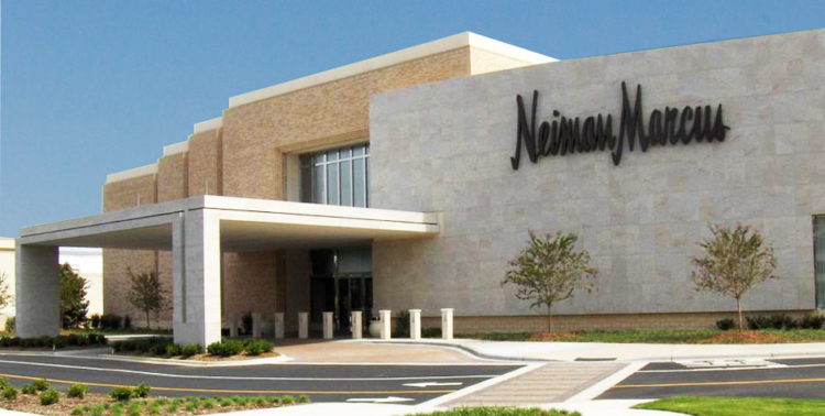 Neiman Marcus store front and entrance.