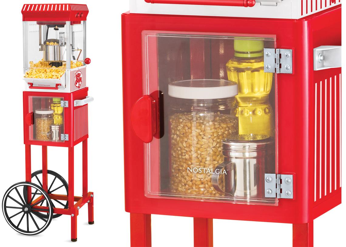 Nostalgia Popcorn Makers As Low As 47 On Walmart Com The Krazy